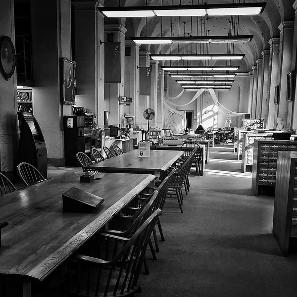 Catalogs and Chairs, Boston Public Library, Boston, MA