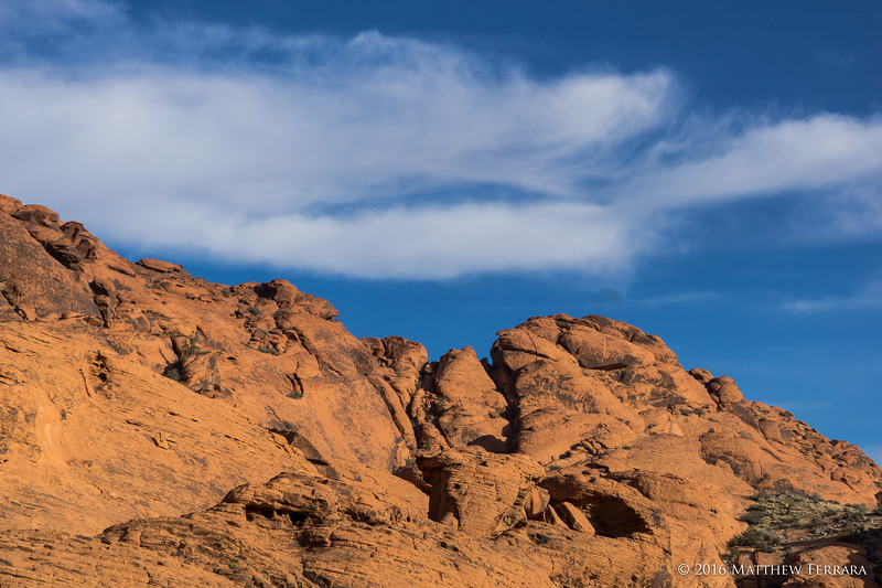 Clouds and Peaks, Red Rock Canyon, Las Vegas, Nevada