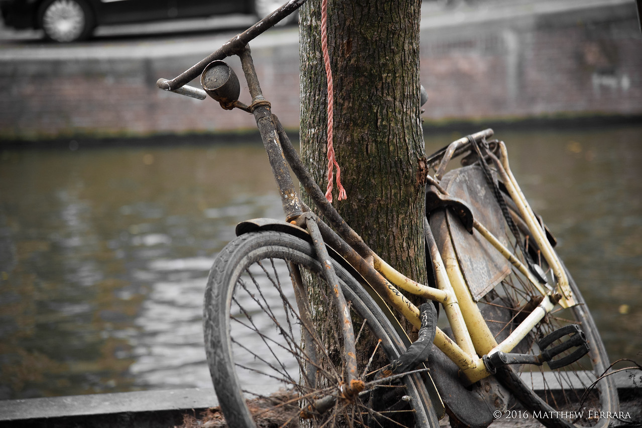 Rusted Bicycle, Amsterdam, Netherlands