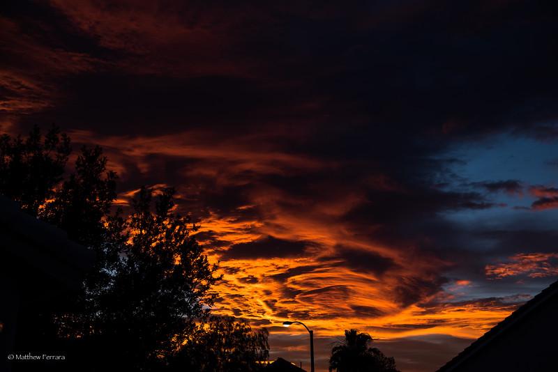 Sunset over Henderson