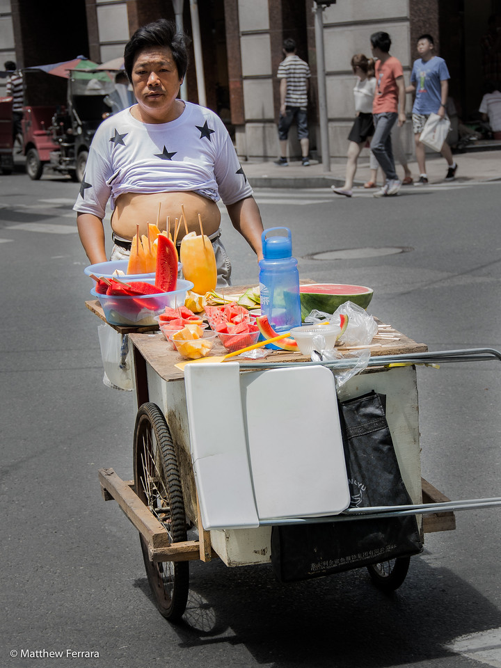 Fruit and Belly, Shanghai, China