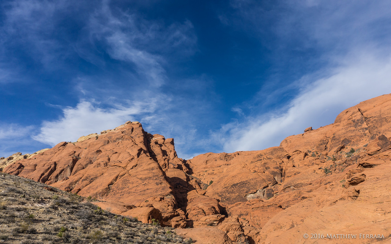 Skyline, Red Rock Canyon, Las Vegas, Nevada