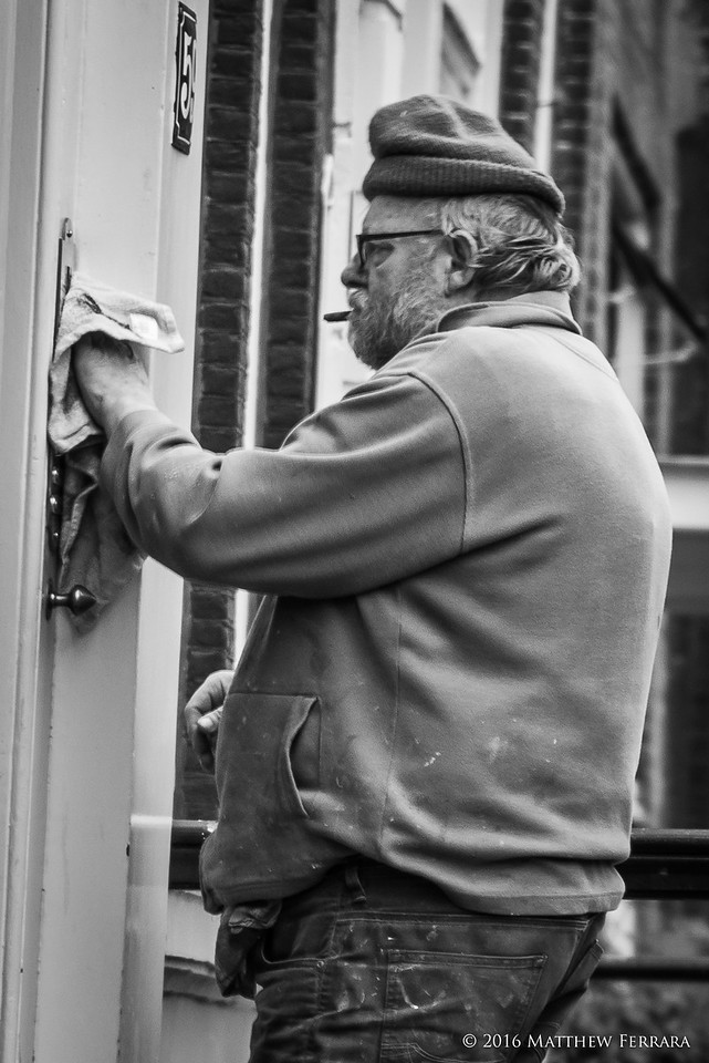 Cleanest Doorbell, Amsterdam, Netherlands