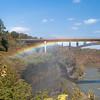 Driving Park Bridge Rainbow, Fall - 2009