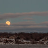 Rising Super Moon, Irondequoit - 2016