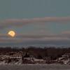 Rising Super Moon, Irondequoit - 2016