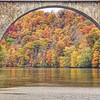 Veterans Memorial Bridge , Fall - 2009