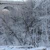 Veterans Memorial Bridge Winter Ice - 2014