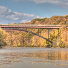 Genesse River Walking Bridge - 2009