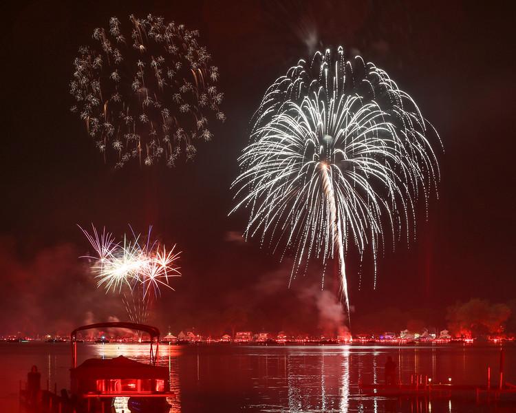 Conesus Lake of Fire - 2015