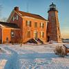 Charlotte Lighthouse  WInter Morning - 2014