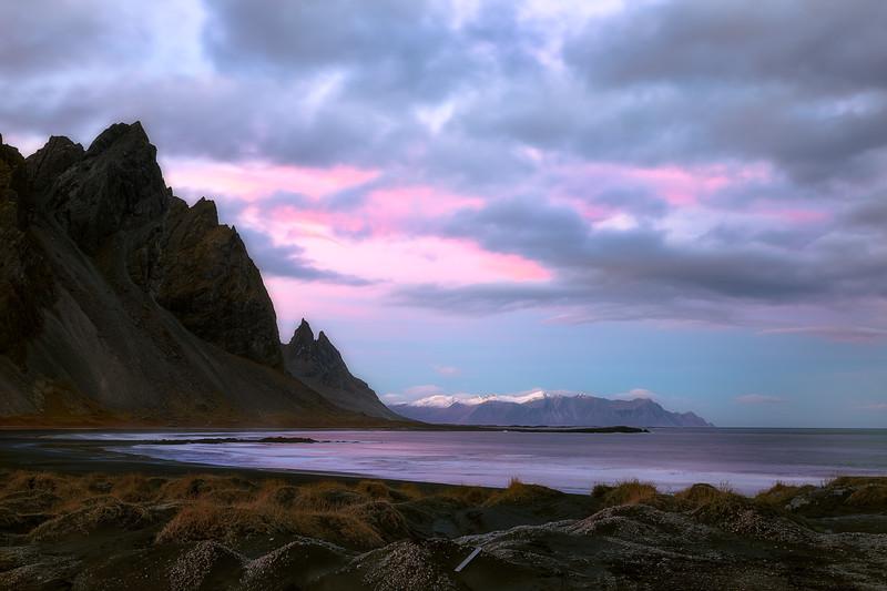 Sunset at Stokksnes