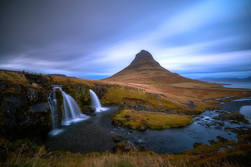 Kirkjufell and Waterfalls