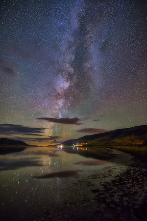 Fish Lake and the Milky Way