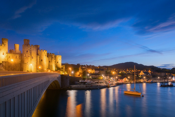 Conwy at Twilight