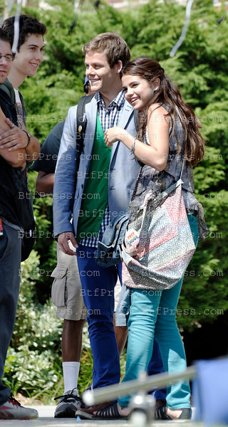 Selena Gomez during the set of Parental Guidance Suggested in Los Angeles,California.