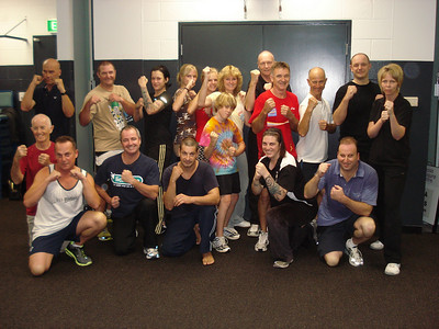 Self Defence Course students October 2010, end of course photo.