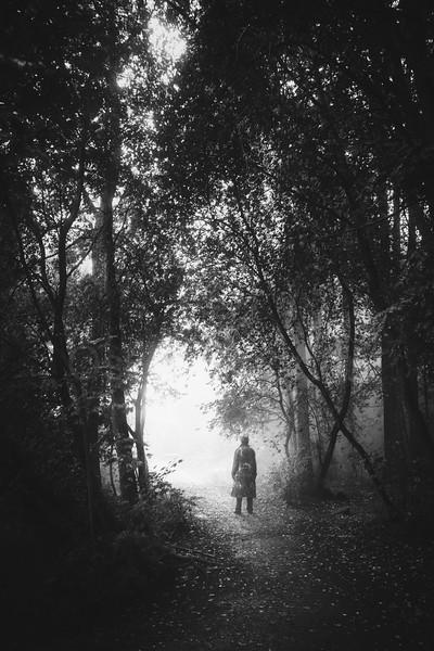 Walk Through Rain IV (Hope)