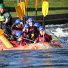 Images taken by Wilkinson Photography of individuals white water rafting at the National Water Sports Centre (NWSC)