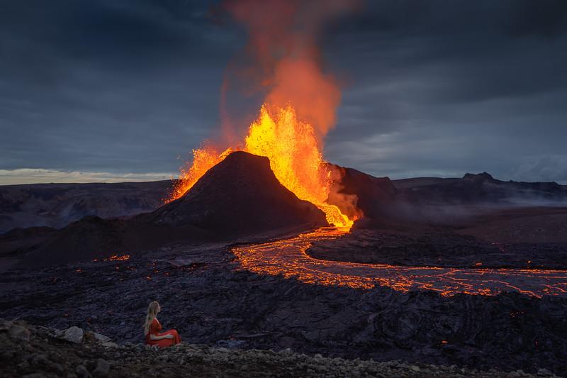Volcano and I
