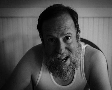 Self portrait as Stanley Kowalski, mono