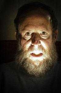 Self portrait as Wolfman