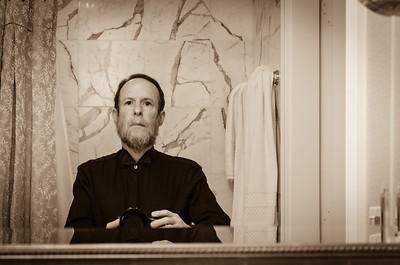Ritz Carleton Bathroom Self-portrait II