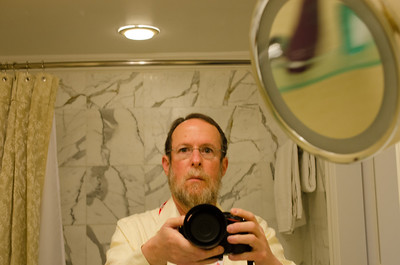 Ritz Carleton Bathroom Self-portrait I