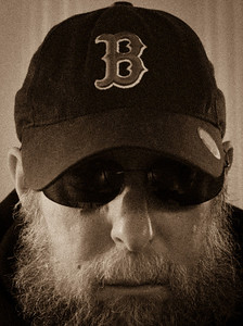 Self portrait as Whitey Bulger, duotone