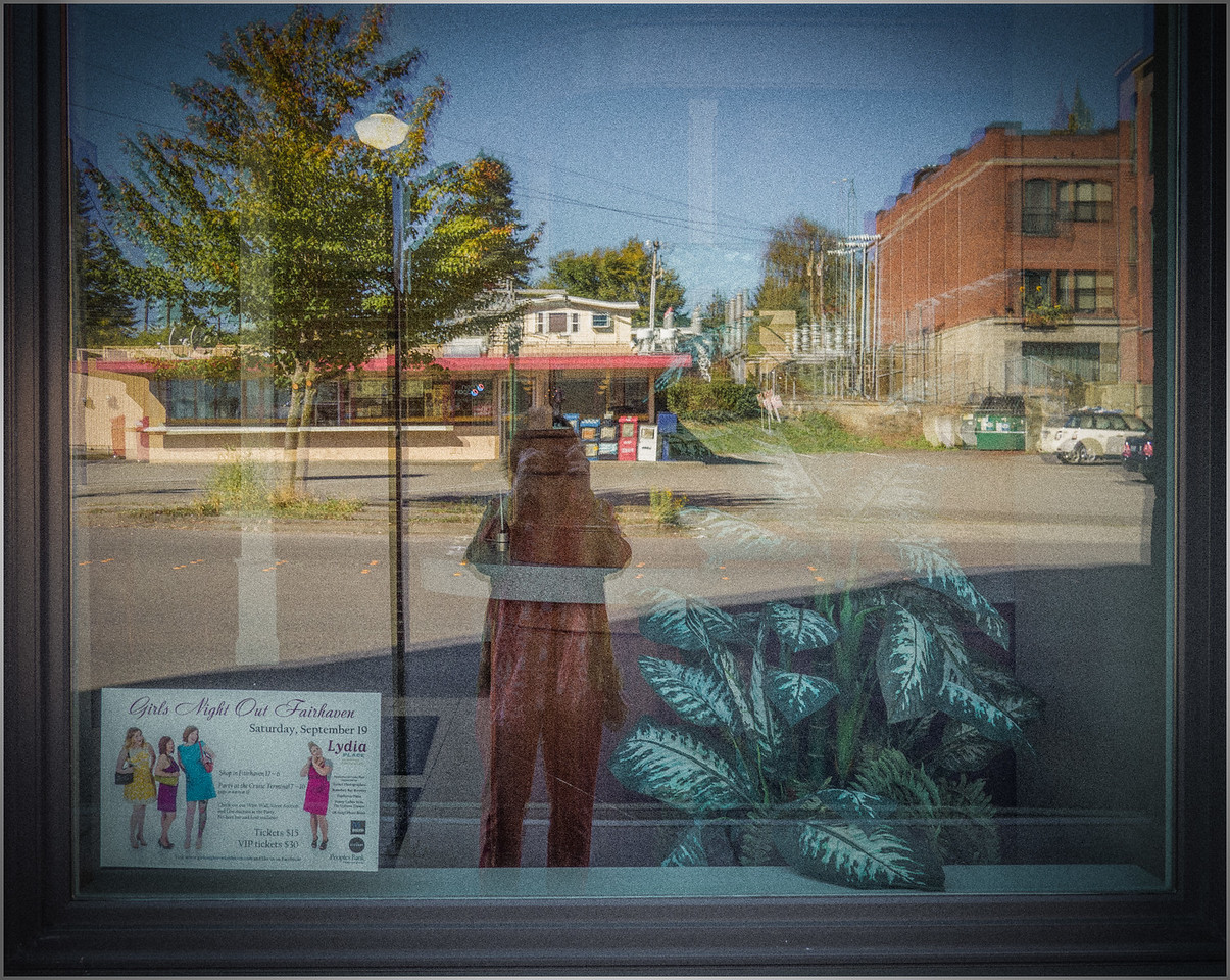 "selfie, reflection, ""Fairhaven Washington"""
