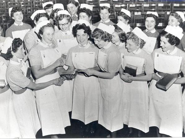 Nurses prize giving 1950s.