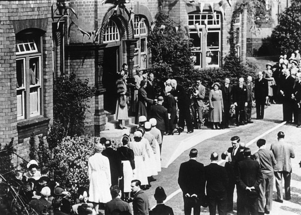 The Queen,then a Princess visits in 1949.