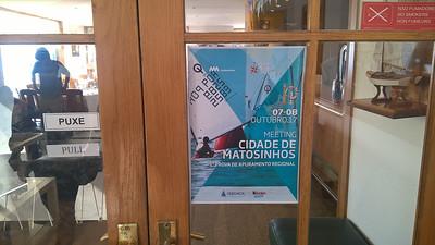NÃO FUMADORE NO SMOKERS NON FUMEURS CLUBE DE VELA ATLANTICO matosinhos NOLLISTER Hoo Ann Un PUXE 07-08 OUTUBRO.17 PULL MEETING CIDADE DE MATOSINHOS 1 PROVA DE APURAMENTO REGIONAL //ABANCA kinder. прор