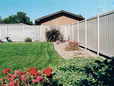 Almond Caribbean Fence
