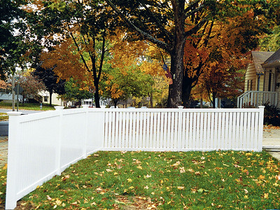 White Rochester Fence