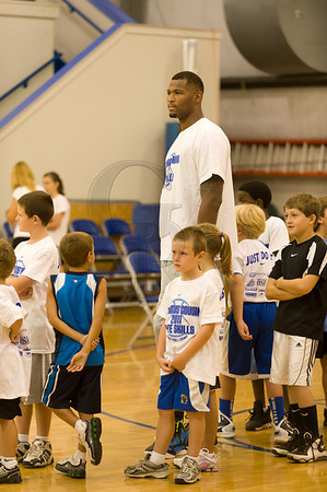 demarcus cousins for the 2011 demarcus cousins elite skills camp