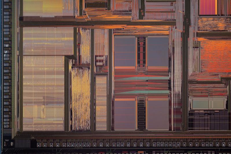 AMD K5 CPU Die