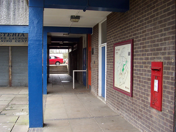 Red door was the Youth Club.