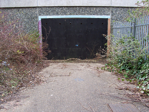 Underpass,now sealed