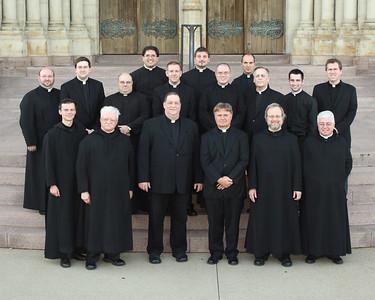 2012 Saint Vincent Seminary Group Photos