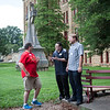 New seminarians move into the Seminary and School of Theology.