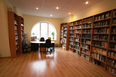 Library of ERSU in our Study Center in downtown Kyiv, Ukraine. This is where we hold our monthly tutorials.