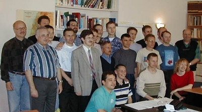 1st Class of ERSU Seminary, Kyiv, May 2000