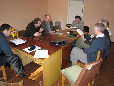 Meeting of the Board of Directors of ERSU Seminary.