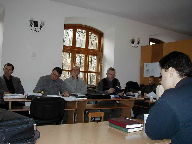 ERSU students in Tutorial in Odessa Presbyterian church