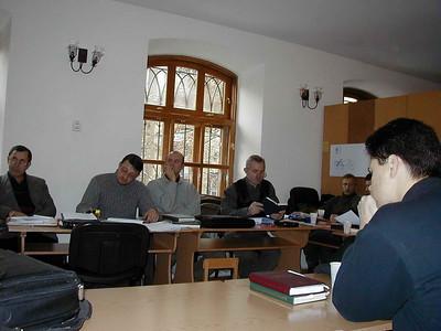 ERSU students in Tutorial in Odessa Presbyterian church