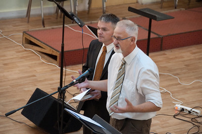 ERSU Seminary Graduation 2010 - words of congratulations from head of Hattem mission, Harry Lamberink