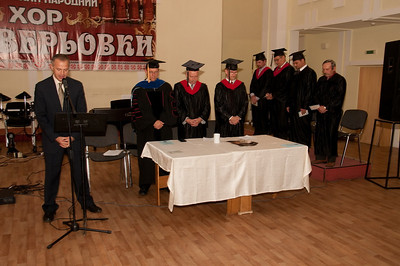 ERSU Seminary Graduation 2010 - Benediction by Ivan Bespalov, Pastor of Presbyterian Church of the Holy Trinity, Kyiv