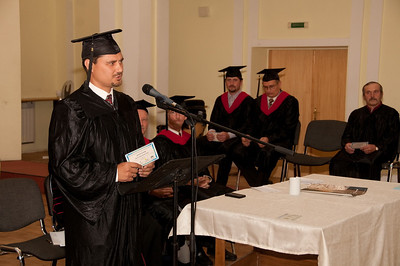 ERSU Seminary Graduation 2010 - graduation address by Denis Dudkin