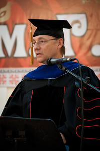 ERSU Seminary Graduation 2010 - President Clay Quarterman